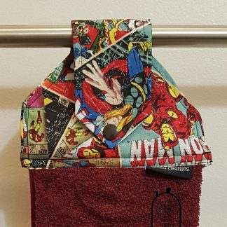 Comic themed Hanging towel