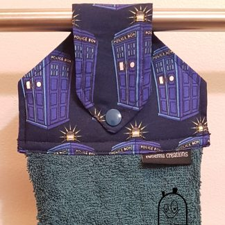 Police Box Hanging Towel