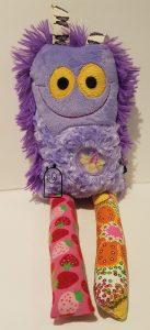 Scrappie Critten in Purple Firefly & Butterflies