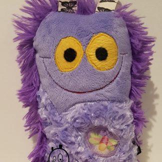 crappie Critten in Purple Firefly & Butterflies