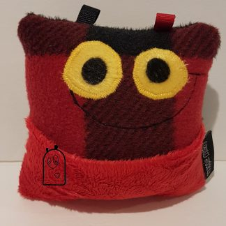 Red & Black tooth fairy pillow