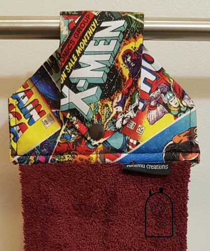 Comic Book Hanging Towel