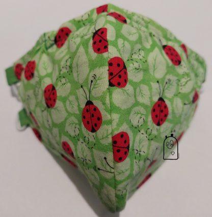 Ladybugs & leaves Mask
