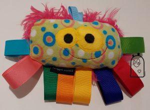 8 legged taggie with ribbon head